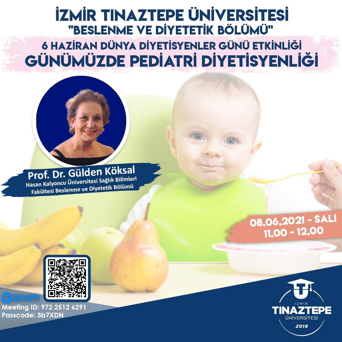 Günümüzde Pediatri Diyetisyenliği