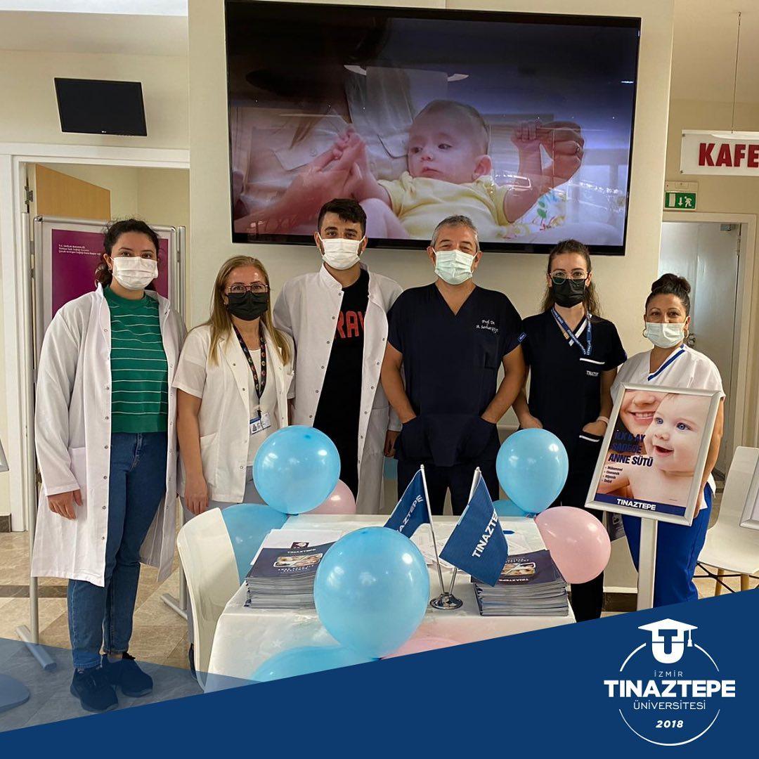 Emzirme haftasını Buca Tınaztepe Hastanesi'nde kutladık.